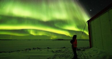L'Aurora Australis, une base de recherche en Antarctique.