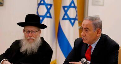 Le ministre israélien de la Santé, Yaakov Litzman