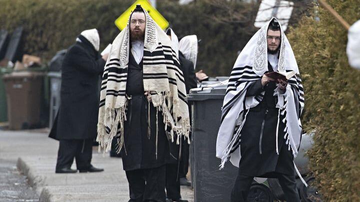 Manifestation juive à Boisbriand