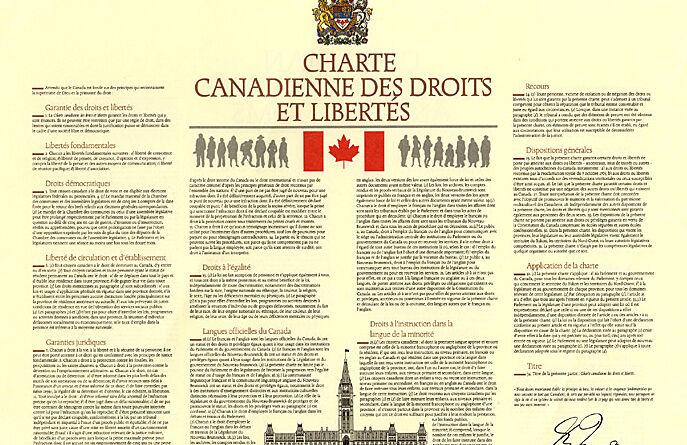CHARTE CANADIENNE DES DROITS ET LIBERTÉS