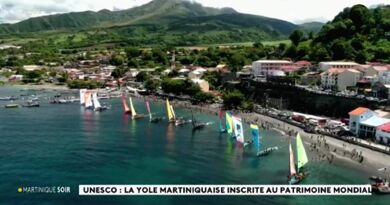 Unesco yoles Martinique