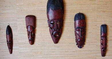 african masks